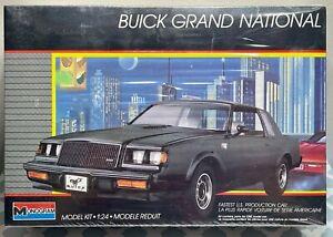Monogram 2765 BUICK GRAND NATIONAL Model Kit 1/24 NOS 1987 1988 New Sealed