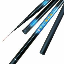 Carp Thread FRP Fishing Rod 2.1M -7.2M Telescopic Ultra-light Glass Steel Pole