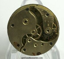 SWISS POCKET WATCH MOVEMENT WITH LEVER ESCAPEMENT - NUMBER 010