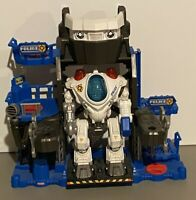 Fisher Price Imaginext Robot Police Headquarters