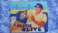 TAPIS DE SOURIS 18x22 publicité pastis olive notre ricard ordinateur