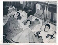 1945 Germany Ward in German Prison Hospital Found by US 7th Army Press Photo