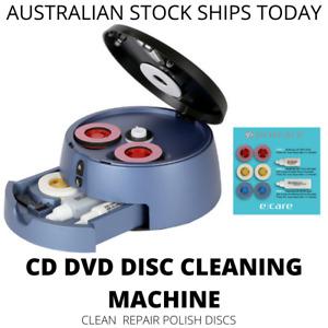 NEW CD Cleaning Polish Repair Machine CD-R CD-RW DVD CDROM Cleaner Fix