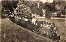 CPA ORLÉANS carte photo Train electrique au Parc Pasteur (608418)