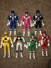 Mighty Morphin Power Rangers Original 8 Inch Figure Lot of 7