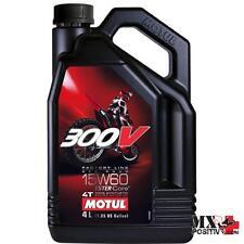 OLIO MOTORE HONDA CR 125 R 1995-2007 MOTUL 300V15W50LT4 300V 15W50 4 LT