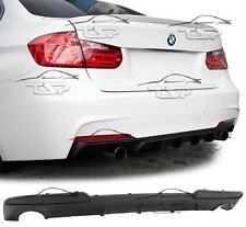SPOILER POSTERIORE Labbro Splitter Paraurti per BMW F10 M SERIE 5 Berlina 2010 Nuovo Kit Carrozzeria