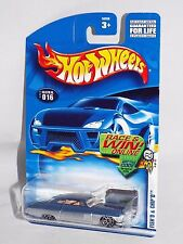 Hot Wheels 2003 First Editions #4 Fish'd & Chip'd Blue & Silver w/ 10SPs