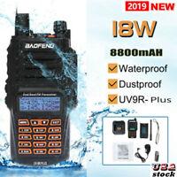 18W 8800mAH Baofeng UV-9R Plus 18W 8800mAh Walkie Talkie Waterproof Long Range