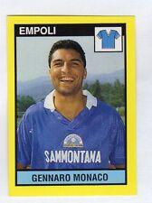 figurina IL GRANDE CALCIO VALLARDI 1988/89 NUMERO 423 EMPOLI MONACO