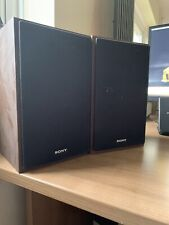 SONY SS-CFX250 Brown Bookshelf Speakers System