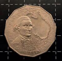 1970 AUSTRALIAN 50 CENT COIN - CAPTAIN COOK