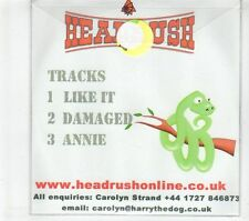 (GR960) Headrush, Like It - 2004 DJ CD