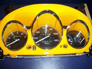 96-00 Honda Civic All Bezel Euro Dash Eurodash Gauges Instrument Cluster Cover