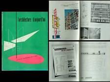 L'ARCHITECTURE D'AUJOURD'HUI 1951 Jean Prouvé, NEUTRA, KENZO TANGE,HARRY SEIDLER