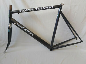 Fausto Coppi titanium frame set