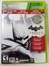 Batman: Arkham City - Game of the Year Edition: Xbox 360 videogame + Warranty