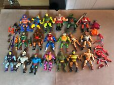 MOTU Masters of the Universe He Man Vintage 20 Figure Lot w/ Weapons/Accessories