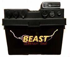 BEAST 12V Platinum Dual Battery Box with inbuilt DC/DC Charger