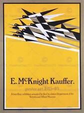 ADVERT EXHIBITION MCKNIGHT KAUFFER V&A MUSEUM LONDON UK ART PRINT BB2278B