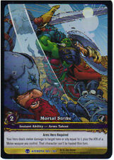 WOW Warcraft TCG ARCHIVES FOIL : MORTAL STRIKE EA X 4