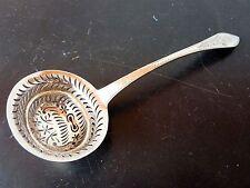 Cuillère à Saupoudrer Argent Rares Poinçons Vieillard XIX Silver Sprinkle Spoon