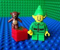 Lego Christmas Elf Xmas Gift Presents Teddy Bear Minifigures 71002 Series 11