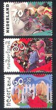 Netherlands 1991 Welfare Fund/Doll/Robot/Bicycle/Bikes/Toys/Games 3v set n39920