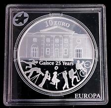 IRLANDE - EIRE - 10 EURO EN ARGENT 2010 - GAISCE 25 ANS - RARE!!!!
