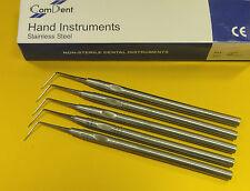 Dental Examen Sondas de calidad Premium/Explorer fig.6 5 Pack CE Nuevo NC6