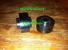 1991 1999 3000GT Stealth 6G72 V6 Fuel Injector Rail Spacers set of 4 New