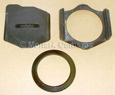 Cokin A Series Filter Holder, Front Cover & 58mm Adapter Ring. More Sizes Listed
