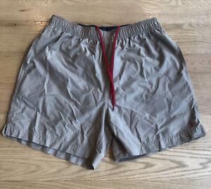 Polo Ralph Lauren Traveler Swim Shorts Mens Size Large Beige Tan Trunks Lined