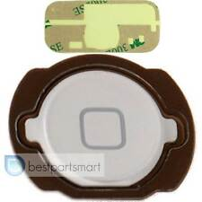 WHITE Home Button Keypad Gasket Replacement For iPod Touch 4th Flex Cable