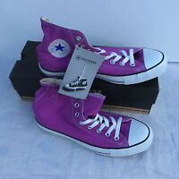 Converse CHUCK TAYLOR ALL STAR High-top  IRIS ORCHID Size:8,5/Eur 42 RRP £45.00