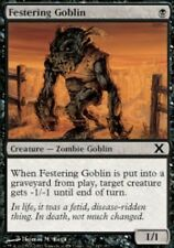 4x MTG: Festering Goblin - Black Common - 10th Edition - 10E - Magic Card