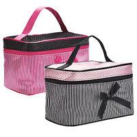 Women Lady Makeup Cosmetic Toiletry Bag Travel Handbag Organisers Storage Clutch