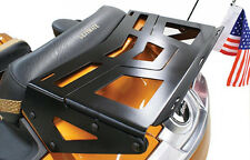 Black Expandable Trunk-mounted Luggage Rack - Can-Am Spyder RT 2010+ (CA-040BK)