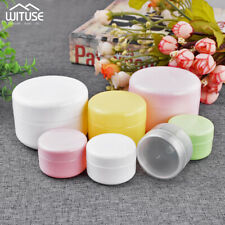 5Pcs Empty Makeup Jar Pot Cream Lotion Cosmetic Travel Container 20g 50g 100g 9