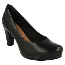 Clarks Block Heel Formal Court Shoes for Women