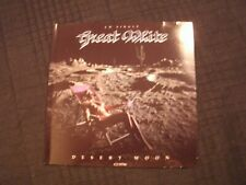 GREAT WHITE - Desert Moon - 1991 CD Maxi- Single / VG+/ Hard Blues Rock Metal