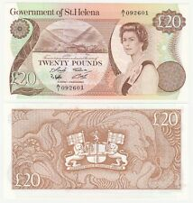 ST. HELENA 20 POUNDS FROM 1986 - P.10a - UNC.