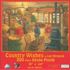 Country Wishes Lee Stroncek 300 Pc SunsOut Jigsaw Puzzle
