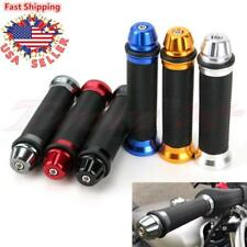 "MOTORCYCLE 7/8"" HAND GRIPS HANDLE BAR RUBBER GEL FOR YAMAHA HONDA KAWASAKI BMW"