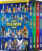 Digimon: The complete Series Seasons 1-4 Collection (DVD, 2013, 32-Disc Set)