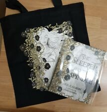 signed Neil Gaiman Sleeper and the Spindle 1st Edition + tote bag Chris riddle