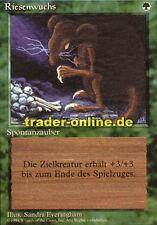 Riesenwuchs (Giant Growth) Magic limited black bordered german beta fbb foreign