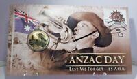 2012 $1 Large Coin PNC ANZAC Day Lest We Forget 25 April Limited Collectable