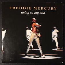 """Freddie Mercury - Living On My Own Parlophone Vinyl 7"""" Single R6355 1993 VG+/VG+"""