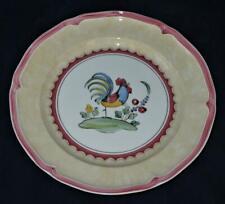 """Villeroy & Boch, JARDIN D'ALSACE VILLAGE, Rooster, Dinner Plate, 10 1/2"""""""